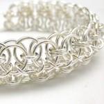 cuff chainmaille bracelet helm coda