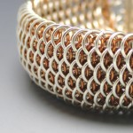 dragon scale chainmaille jewelry