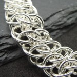 GSG Chainmaille jewelry silver bracelet