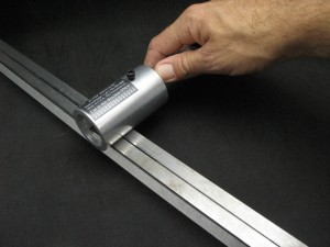Jump ringer flex shaft cutting