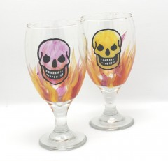 Water skull pair 2