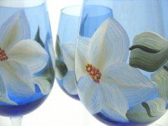 Cobalt magnolia close up 2