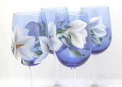 Cobalt magnolia close up
