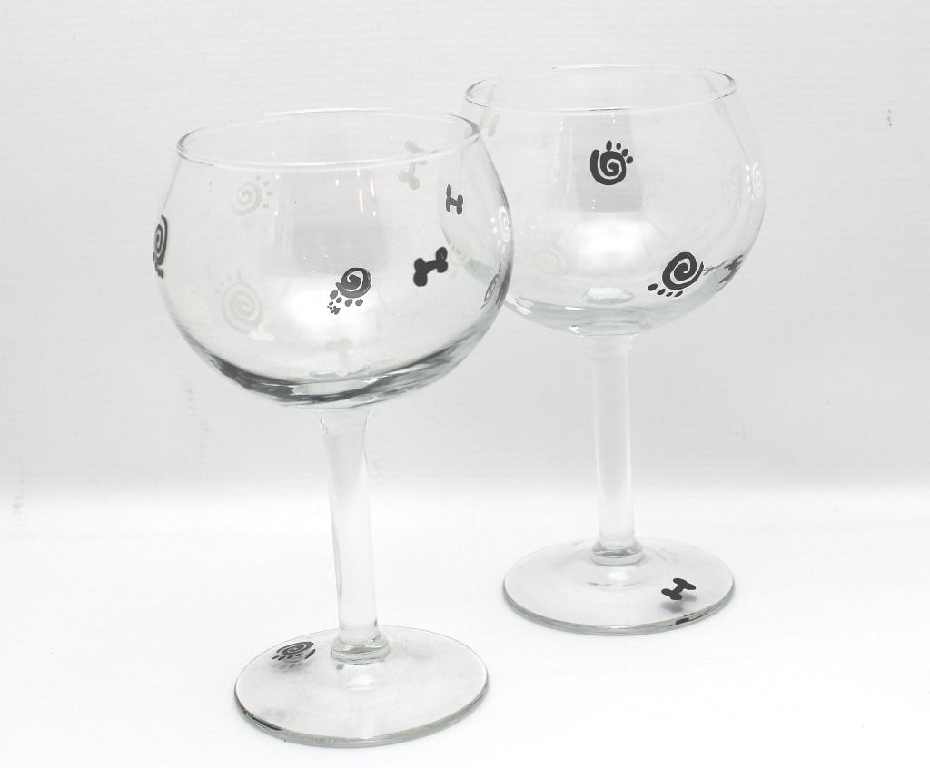 wine glass in hand