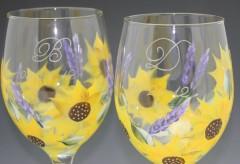 Sunflower Lavender close up